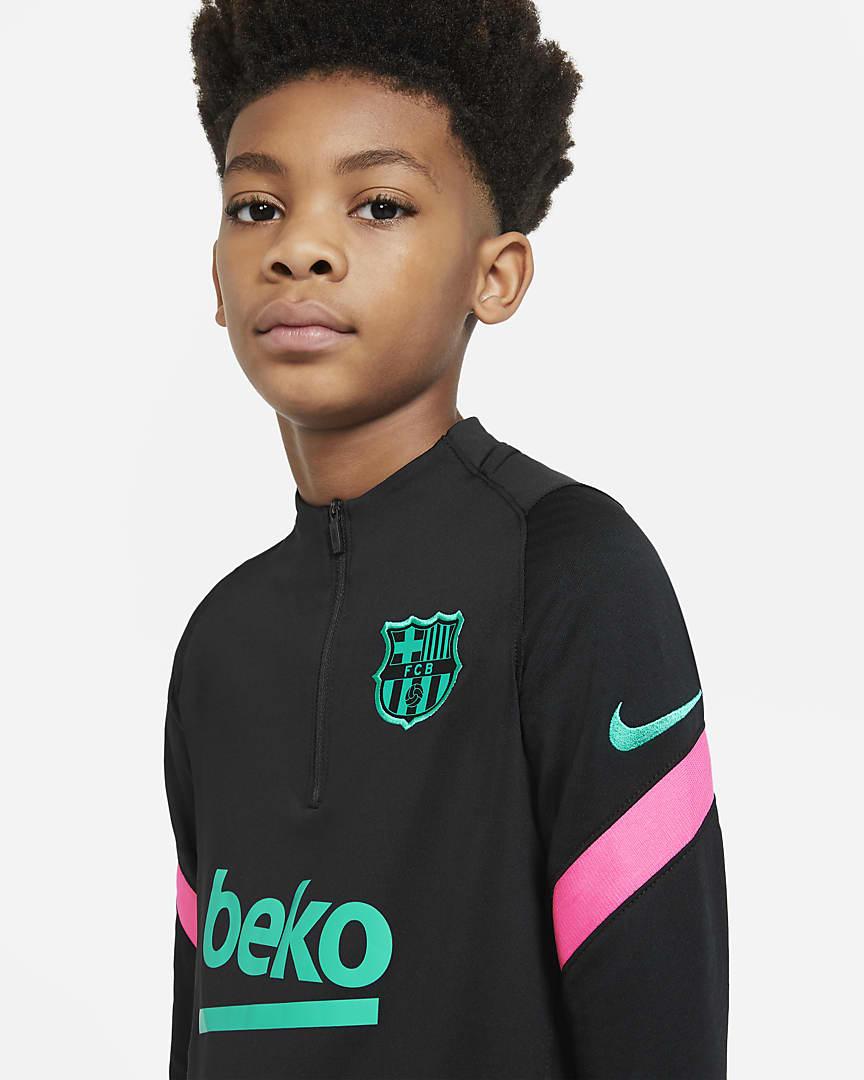 FC Barcelona Trainingspak Trui en Broek Kids - Princen Sport